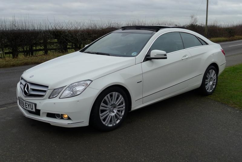 mercedes e250 cdi se coupe right hand drive. Black Bedroom Furniture Sets. Home Design Ideas